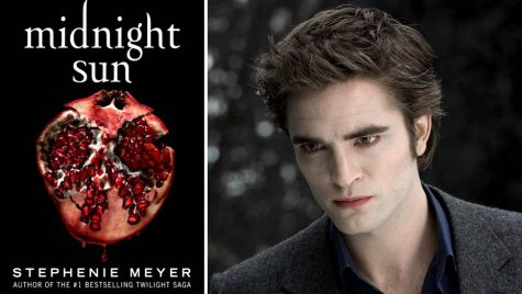 The new book of the Twilight Series: Midnight Sun created in Edward Cullen