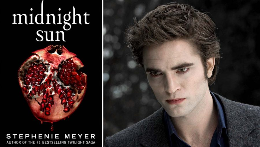 The new book of the Twilight Series: Midnight Sun created in Edward Cullen's perspective.