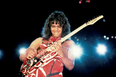 Eddie Van Halen rocking out jus as a young man. Forever will be missed by many.