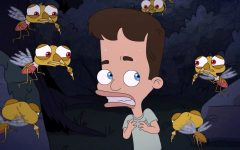 The newest obstacle of Season 4 of Big Mouth: Tito the Anxiety Mosquito.