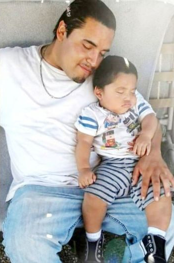 Mario Gonzales: father, brother, and beloved son. May he gain justice and peace in heaven.