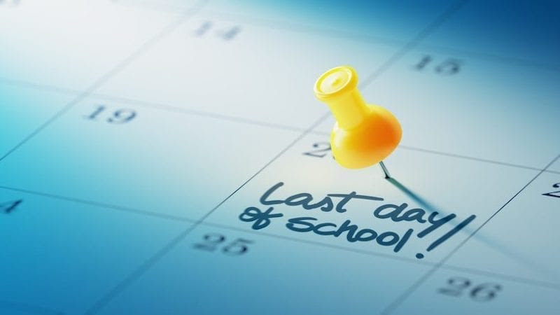 Mark it off on your calender's, May 20 is the final day of the 2021 school year!