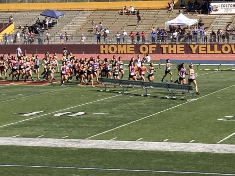 Track meet at Colton High School on Saturday, September 4th, 2021