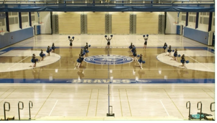 Many sports, inlcuding volleyball and basketball will play in the new gym